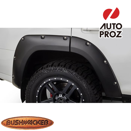 [Bushwacker 正規品] トヨタ 4ランナー 2014-2020年 ポケットスタイル フェンダーフレア/オーバーフェンダー ※リアのみ