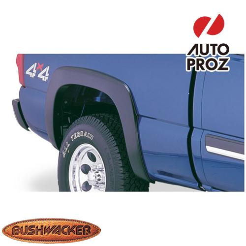 [Bushwacker 正規品] シボレー シルバラード 1500 クラシック GMC シエラ 1500 クラシック 6フィート5インチ/8フィートベッド 2007年 OEスタイル フェンダーフレア/オーバーフェンダー ※リアのみ