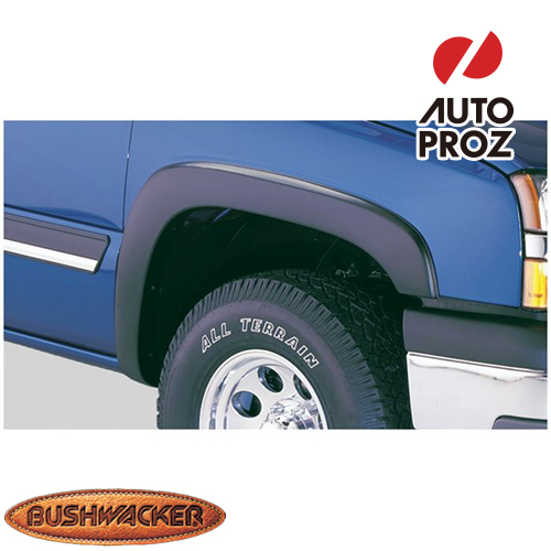 [Bushwacker 正規品] シボレー シルバラード 1500 フリートサイド 6フィート5インチ/8フィートベッド 1999-2006年 OEスタイル フェンダーフレア/オーバーフェンダー ※フロントのみ