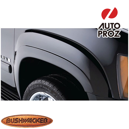 [Bushwacker 正規品] シボレー サバーバン 2500 2007-2013年 OEスタイル フェンダーフレア/オーバーフェンダー ※フロントのみ
