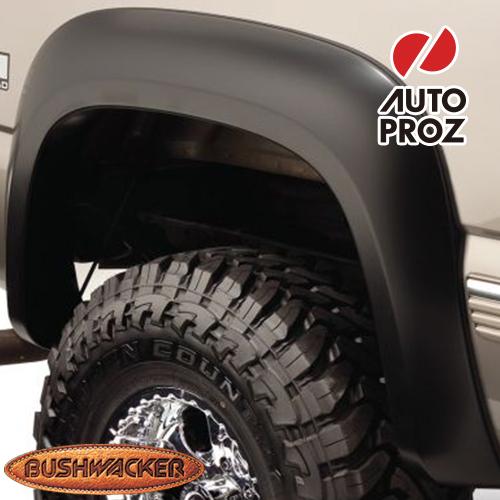 [Bushwacker 正規品] シボレー シルバラード 1500/2500HD クラシック フリートサイド 6フィート5インチ/8フィートベッド 2007年 Extend-A-Fenderスタイル フェンダーフレア/オーバーフェンダー ※リアのみ