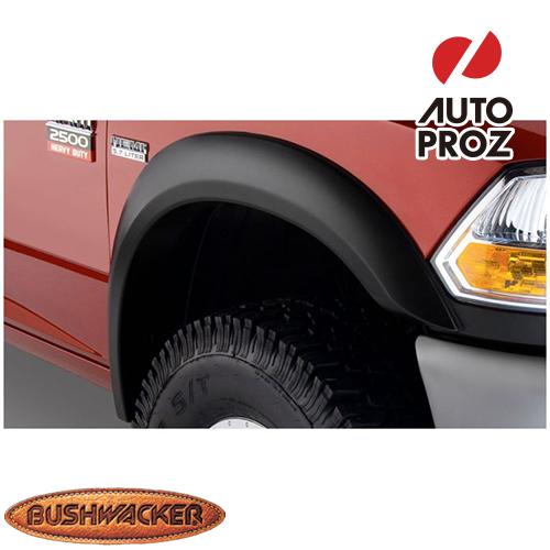 [Bushwacker 正規品] ダッジ ラム 1500 フリートサイド 6フィート5インチ/8フィートベッド 1994-2001年 Extend-A-Fenderスタイル フェンダーフレア/オーバーフェンダー ※フロントのみ