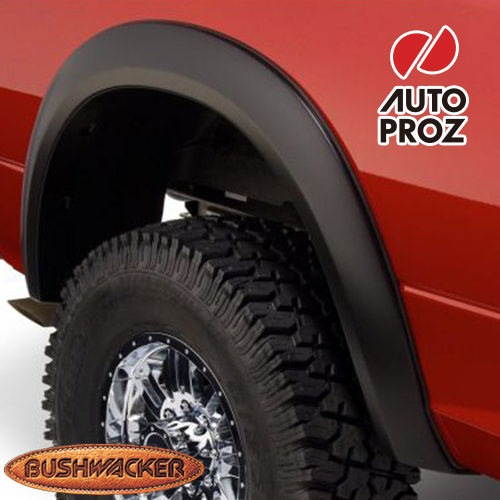 [Bushwacker 正規品] ダッジ ラム 2500/3500 フリートサイド 8フィート2インチベッド 2006-2009年 Extend-A-Fenderスタイル フェンダーフレア/オーバーフェンダー ※リアのみ