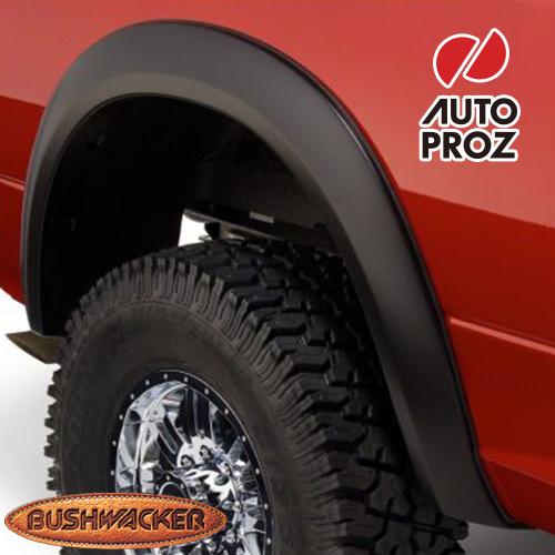 [Bushwacker 正規品] ダッジ ラム 1500 フリートサイド 5フィート6インチ/6フィート4インチ/8フィートベッド 2009-2018年 Extend-A-Fenderスタイル フェンダーフレア/オーバーフェンダー ※リアのみ
