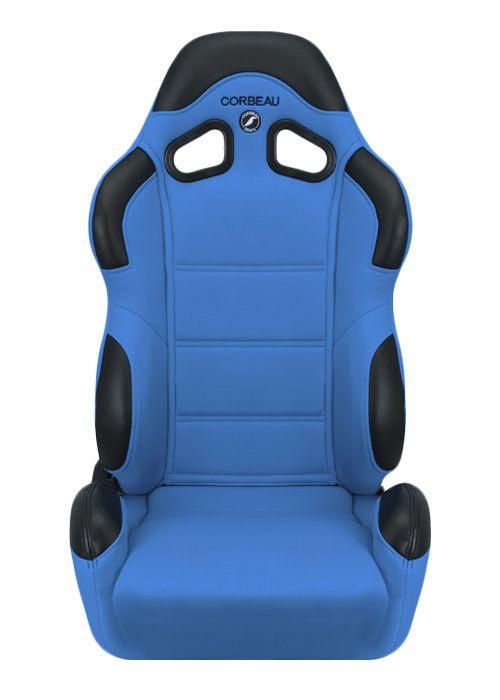 [USコルビュー 直輸入正規品] CORBEAU CR1 リクライニングシート(布シート) ブルー (運転席)