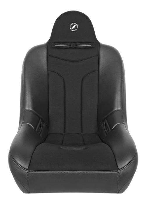 [USコルビュー 直輸入正規品] CORBEAU Baja JP サスペンションシート(ビニール/布シート) ブラック (1席)