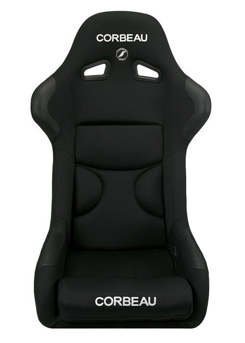 [USコルビュー 直輸入正規品] CORBEAU FX1 フィックスバックシート(布シート) ブラック (2席)