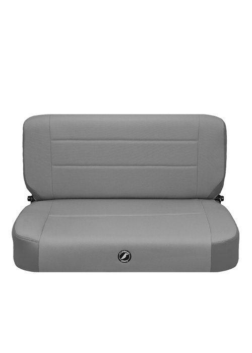 [USコルビュー 直輸入正規品] CORBEAU Safari CJラングラー YJラングラー ベンチシート(ビニール/布シート) グレー