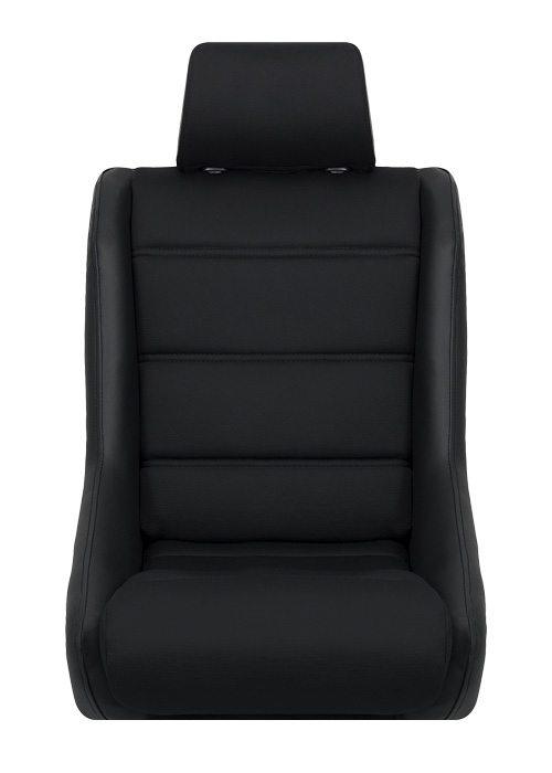 [USコルビュー 直輸入正規品] CORBEAU Classic フィックスバックシート(ビニール/布シート) ブラック (2席)
