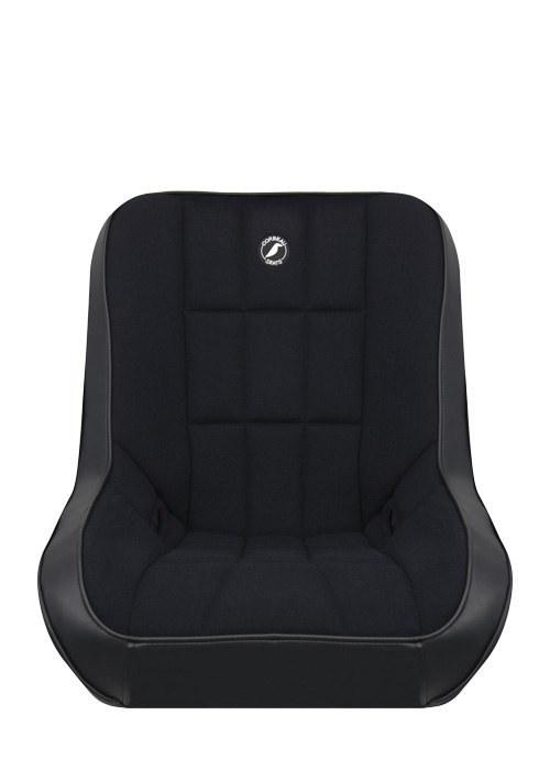 [USコルビュー 直輸入正規品] CORBEAU Baja Low Back サスペンションシート(ビニール/布シート) ブラック (1席) ※ヘッドレストなし