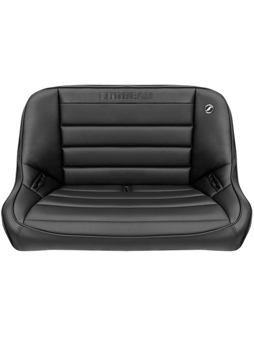 [USコルビュー 直輸入正規品] CORBEAU Baja Bench 40インチ ベンチシート(ビニールシート) ブラック