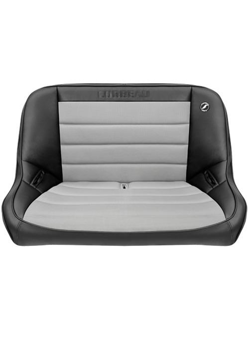 [USコルビュー 直輸入正規品] CORBEAU Baja Bench 40インチ ベンチシート(ビニール/布シート) ブラック/グレー
