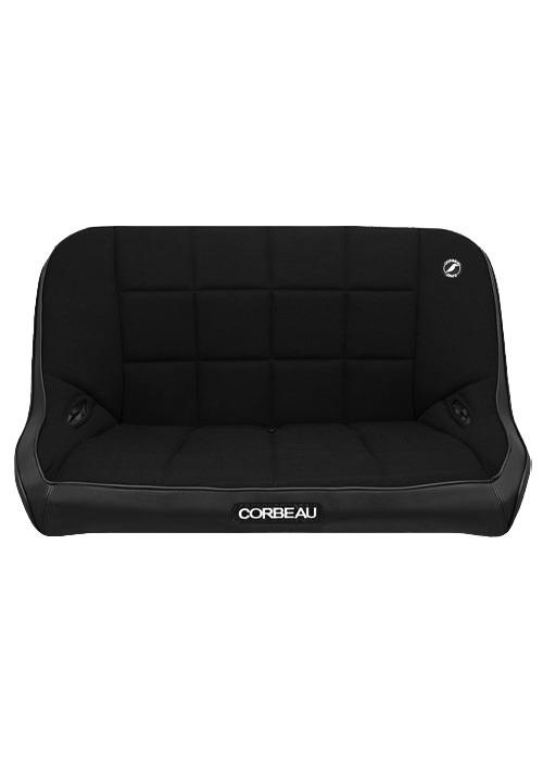 [USコルビュー 直輸入正規品] CORBEAU Baja Bench 42インチ ベンチシート(ビニール/布シート) ブラック