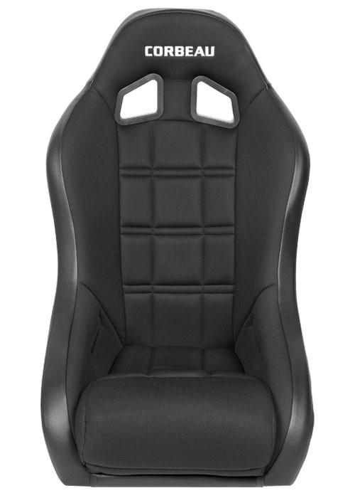 [USコルビュー 直輸入正規品] CORBEAU Baja XP サスペンションシート(ビニール/布シート) ブラック (2席)