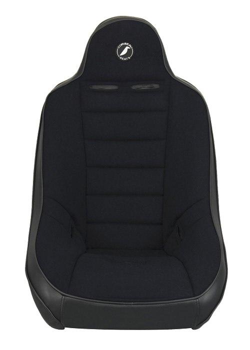[USコルビュー 直輸入正規品] CORBEAU Baja Ultra サスペンションシート(ビニール/布シート) ブラック (1席)