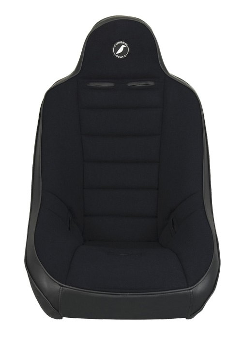 [USコルビュー 直輸入正規品] CORBEAU Baja Ultra サスペンションシート(ビニール/布シート) ブラック ワイド (2席)