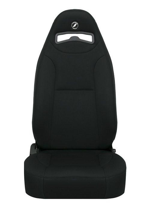 [USコルビュー 直輸入正規品] CORBEAU Moab リクライニングシート(ネオプレンシート) ブラック (運転席 助手席セット)