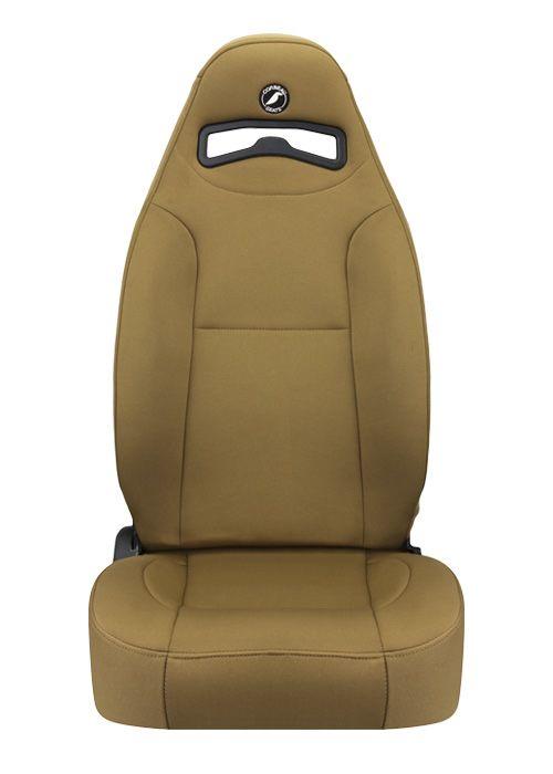 [USコルビュー 直輸入正規品] CORBEAU Moab リクライニングシート(ネオプレンシート) スパイス (運転席 助手席セット)