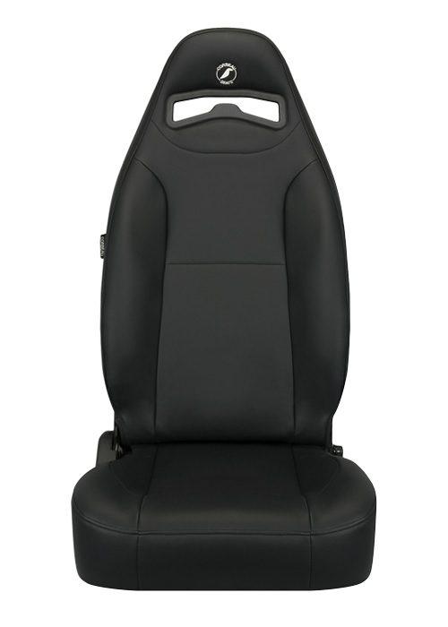 [USコルビュー 直輸入正規品] CORBEAU Moab リクライニングシート(ビニールシート) ブラック (運転席 助手席セット)