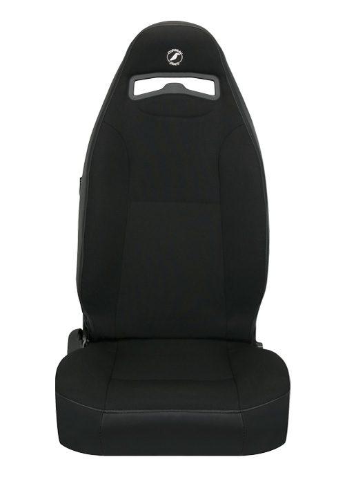 [USコルビュー 直輸入正規品] CORBEAU Moab リクライニングシート(ビニール/布シート) ブラック (運転席 助手席セット)