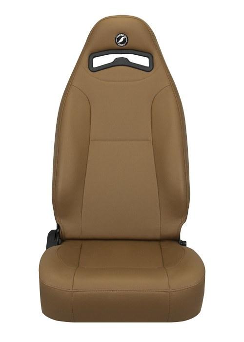[USコルビュー 直輸入正規品] CORBEAU Moab リクライニングシート(ビニールシート) タン (運転席 助手席セット)