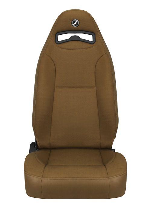 [USコルビュー 直輸入正規品] CORBEAU Moab リクライニングシート(ビニール/布シート) タン (運転席 助手席セット)