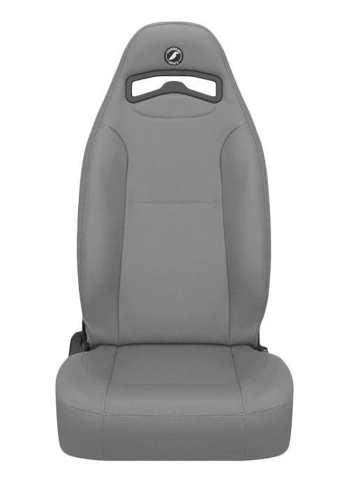 [USコルビュー 直輸入正規品] CORBEAU Moab リクライニングシート(ビニールシート) グレー (運転席)