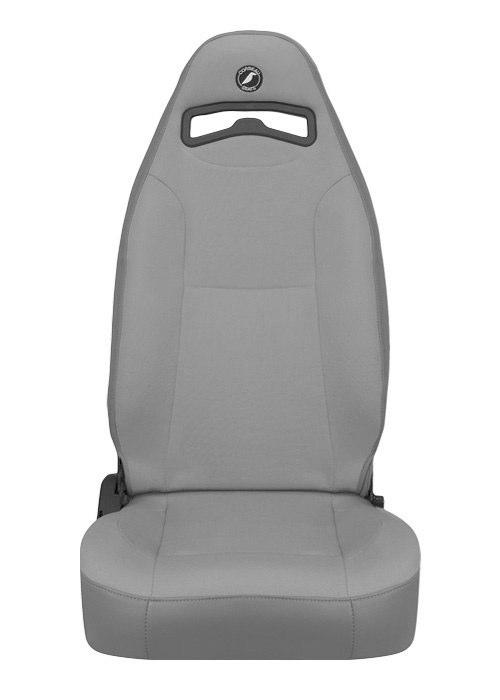 [USコルビュー 直輸入正規品] CORBEAU Moab リクライニングシート(ビニール/布シート) グレー (運転席 助手席セット)