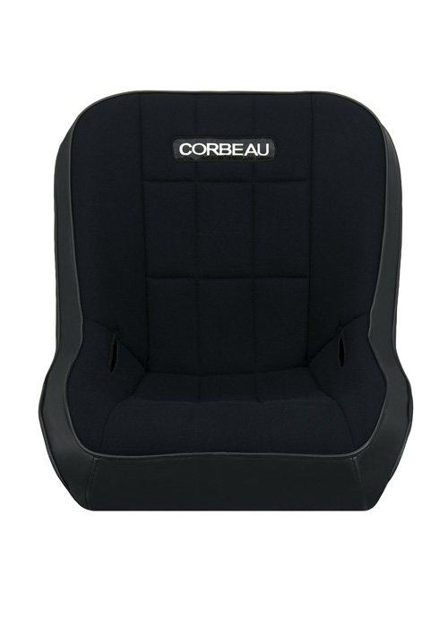 [USコルビュー 直輸入正規品] CORBEAU RXP Rhino Suspension Seat フィックスバックシート(ビニール/布シート) ブラック (1席)