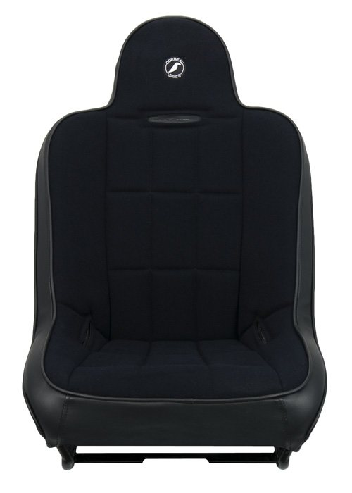 [USコルビュー 直輸入正規品] CORBEAU RXP Rhino Suspension Seat フィックスバックシート(ビニール/布シート) ハイバックブラック (2席)