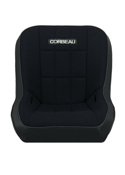 [USコルビュー 直輸入正規品] CORBEAU RXP Rhino Suspension Seat フィックスバックシート(ビニール/布シート) グレー (2席)