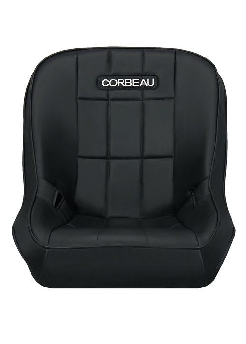 [USコルビュー 直輸入正規品] CORBEAU RXP Rhino Suspension Seat フィックスバックシート(ビニールシート) グレー (2席)