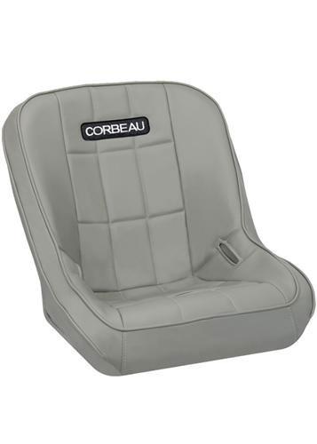 [USコルビュー 直輸入正規品] CORBEAU RXP Rhino シート(ビニール) グレー (運転席 助手席共用) ※1脚