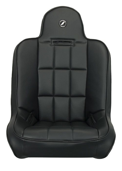 [USコルビュー 直輸入正規品] CORBEAU RXP Rhino Suspension Seat フィックスバックシート(ビニールシート) ハイバックグレー (1席)
