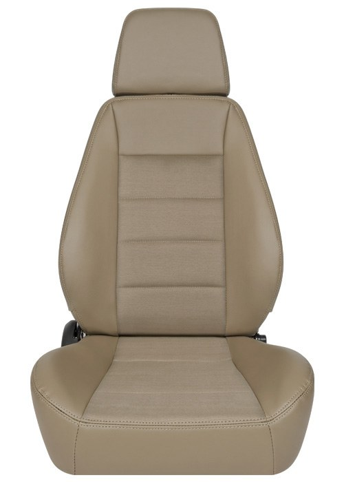 [USコルビュー 直輸入正規品] CORBEAU Sport Seat リクライニングシート(ビニール/布シート) スパイス (運転席)