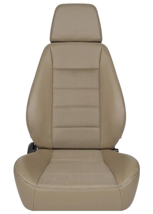 [USコルビュー 直輸入正規品] CORBEAU Sport Seat リクライニングシート(ビニール/布シート) スパイス (運転席 助手席セット)