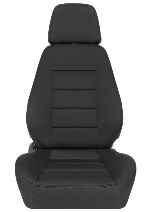 [USコルビュー 直輸入正規品] CORBEAU Sport Seat リクライニングシート(ネオプレンシート) ブラック (運転席 助手席セット)