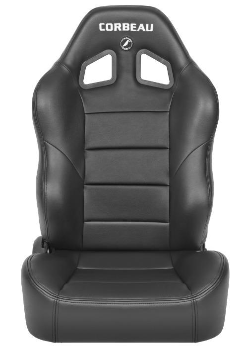 [USコルビュー 直輸入正規品] CORBEAU Baja RS リクライニングシート(ビニールシート) ブラック (助手席)