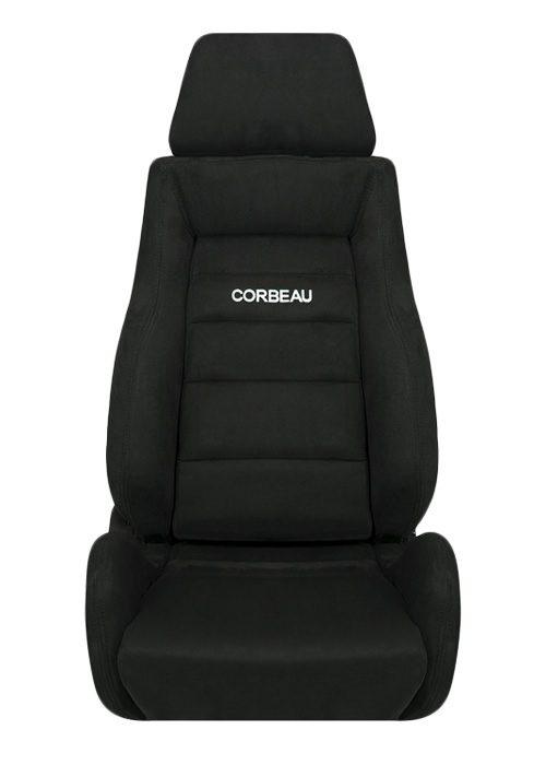 [USコルビュー 直輸入正規品] CORBEAU GTS リクライニングシート(スエードシート) ブラック (運転席)