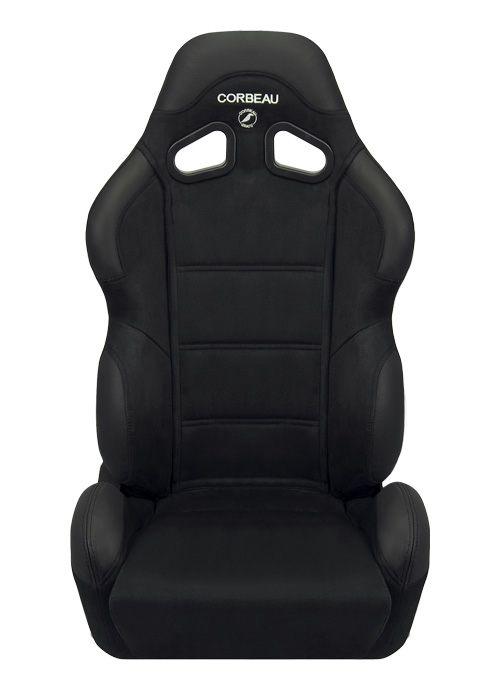 [USコルビュー 直輸入正規品] CORBEAU CR1 リクライニングシート(スエードシート) ブラック (運転席)