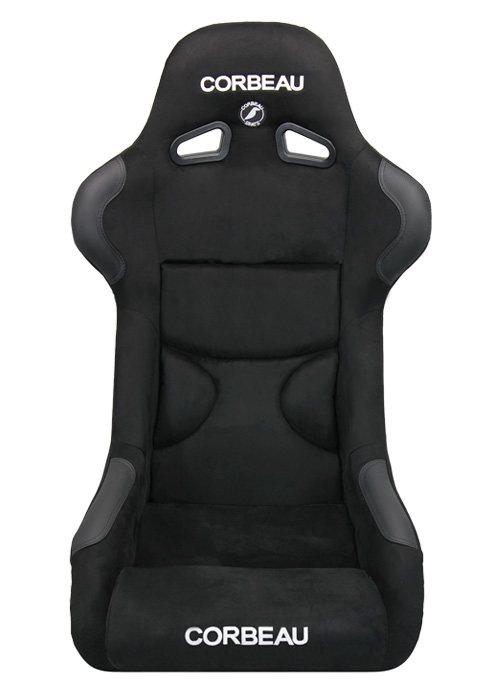 [USコルビュー 直輸入正規品] CORBEAU FX1 Pro フィックスバックシート(スエードシート) ブラック (2席)