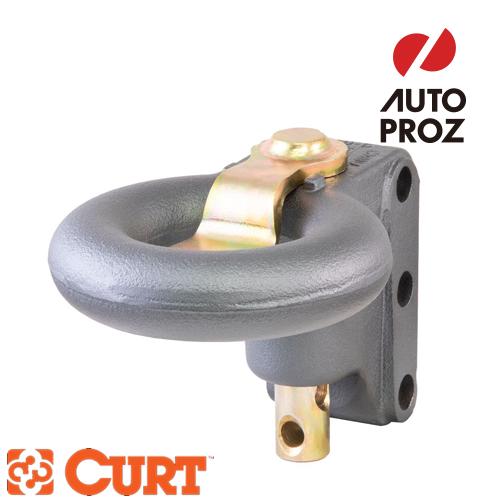 [CURT 正規品] SECURELATCH チャネルスタイル ルネットリング ホール内径3インチ 3穴ボルトパターン メーカー保証付