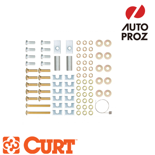 【正規輸入代理店】CURT カートUniversal 5th Wheel Rail Mounting Hardwareユニバーサル5thホイールレールマウントハードウェア