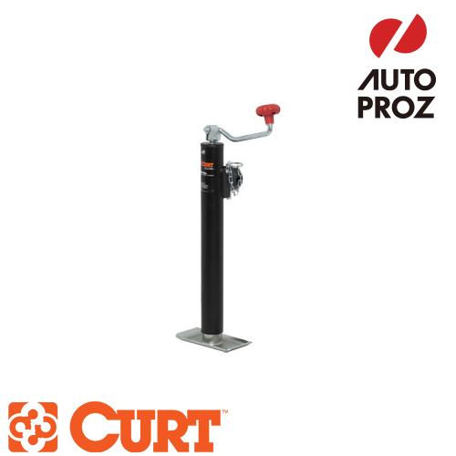 [CURT 正規品] パイプマウントスウィベルジャッキ トップハンドル 耐荷重2000LB ストローク15インチ メーカー保証付