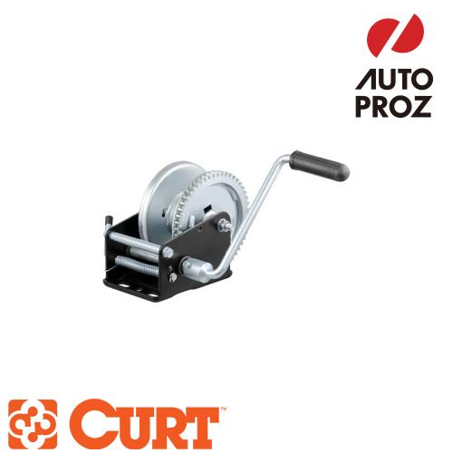 [CURT 正規品] ハンドウィンチ 牽引最大負荷1700LB 歯車比5.1:1 メーカー保証付