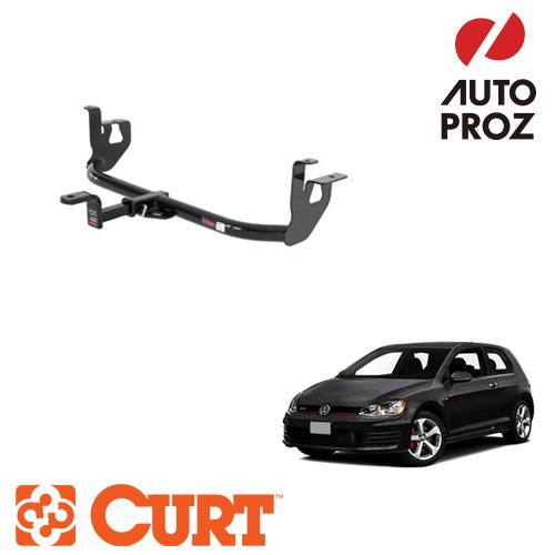 [CURT 正規品] VW ゴルフ/GTI 2010-2014年 ヒッチメンバー 1.25インチ角 ※ボールマウント付 メーカー保証付