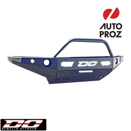 [Demello 正規品] トヨタ 4ランナー N280系 前期型 2010-2013年 シングルフープ フロントバンパー ブラックパウダーコート ※スチール製