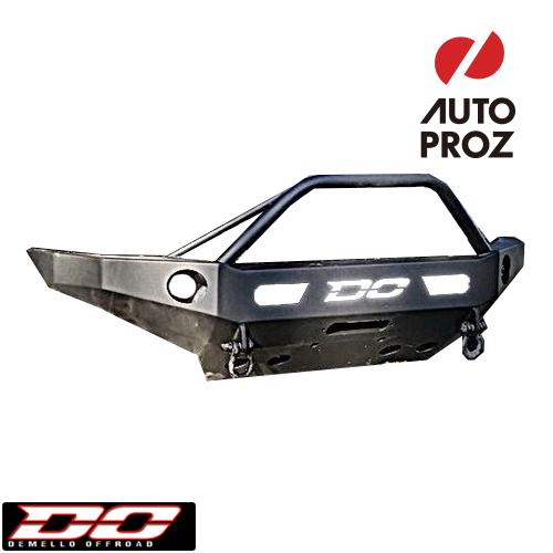 [Demello 正規品] トヨタ タコマ 2005-2011年 バハフープ フロントバンパー ブラックパウダーコート ※アルミ製