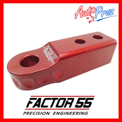 【USファクター55 直輸入正規品】 Factor 55 ヒッチリンク 2.0 2インチヒッチ用 赤