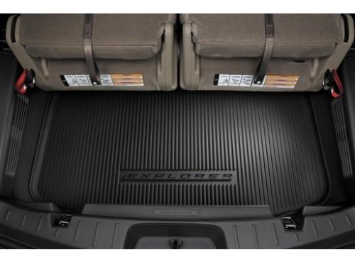 【USフォード・直輸入純正品】 Ford エクスプローラー カーゴトレイ/ラゲッジマット 3列シートあり車両用